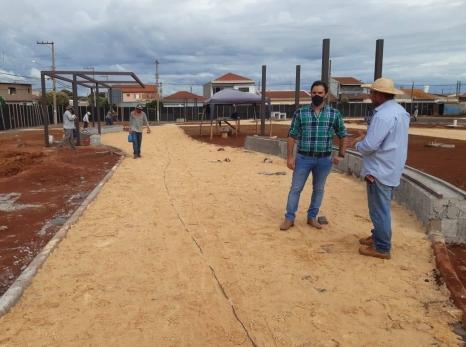 Prefeitura faz melhorias no Jardim Porto Seguro